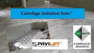 Eric Le Carreleur : pose carrelage imitation parquet bois avec syst me ~ Premium-room.com Idées de Décoration