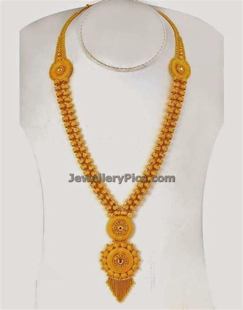gold poosala mini haram jewellery designs jewellery jewellery designs