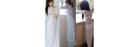Nữ Sinh Mặc áo Dài Mỏng Khiêu Dâm Hot 2016