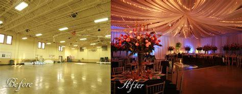 design weddings create wall  ceiling draping