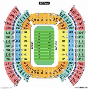 Nissan Stadium Seating Chart