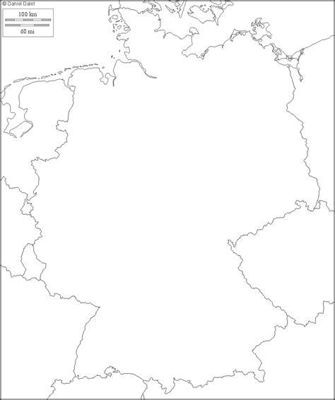 Carte Allemagne Vierge by Fonds De Carte De L Allemagne Carte Monde Org