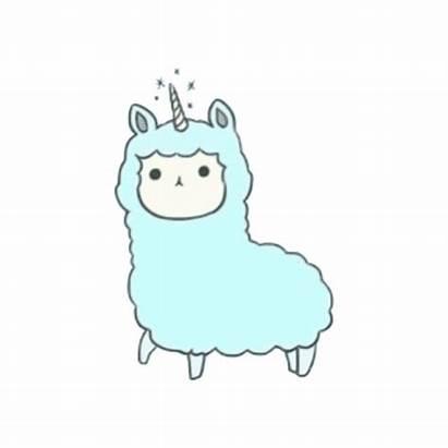 Kawaii Clipart Alpaca Unicorn Llama Clip Llamas