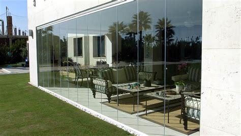 rideau de verre la nouvelle fermeture mur en verre sans