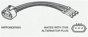 4 Wire Alternator Wiring Connector Diagram