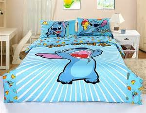 new 2013 disney lilo stitch bedding set 4pc bed cotton gift