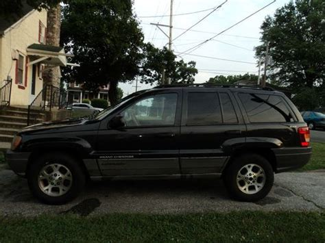 dark gray jeep grand cherokee buy used 1999 jeep grand cherokee laredo v8 dark gray 4x4