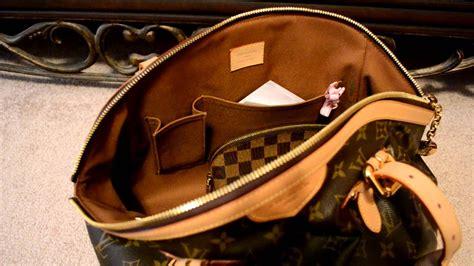 whats   bag louis vuitton tivoli gm handbag showing  fits youtube