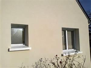 Entourage Fenetre Exterieur : couleur de crepis exterieur maison cantillana beige ~ Voncanada.com Idées de Décoration