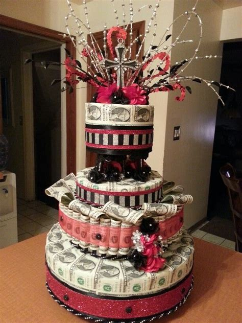Best  Money Cake  Ee  Ideas Ee   On Pinterest Birthday Money
