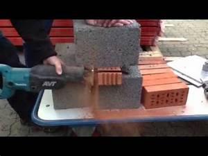 Dachkehle Ziegel Schneiden : schneiden von ziegelsteinen youtube ~ Lizthompson.info Haus und Dekorationen
