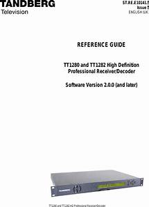 Tandberg High Definition Professional Recevier Decoder