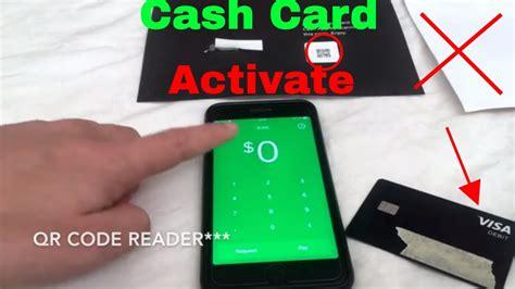 activate cash app cash card youtube