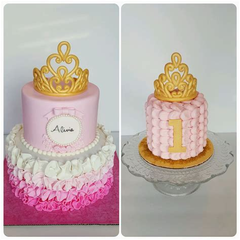 pink and gold princess cake www imgkid the image