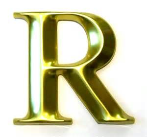 Letter R | 3D Letters and 3D Logos