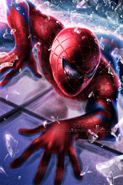 The Amazing Spiderman By Akashiro On Deviantart