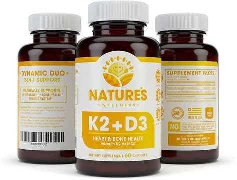 Nov 23, 2019 · learn what to look for to choose the best vitamin k supplement and find out which products passed or failed our quality tests and review. Vitamin K2 (mk7) with D3 Supplement for Best Absorption ...