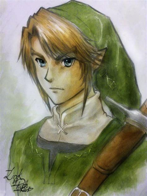 Link Legend Of Zelda Fan Art By Ruth Kan By Shoujohoney8