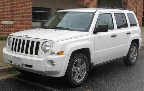 types of jeeps 2015 fichier jeep patriot jpg wikipédia