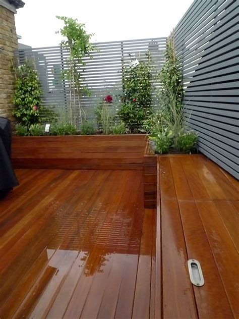 Small Trellis Fence by Wooden Slatted Horizontal Privacy Screen Trellis In Cedar