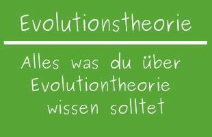 evolutionstheorien entstehung und veraenderung  ist