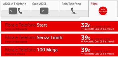Vodafone Fibra, Adsl E Telefono, Tutte Le Offerte