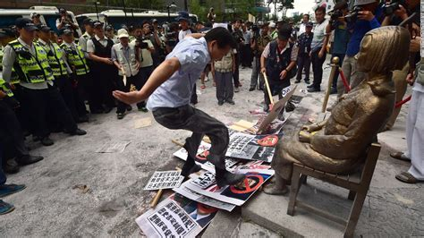 Comfort Women How The Statue Of A Young Girl Caused A