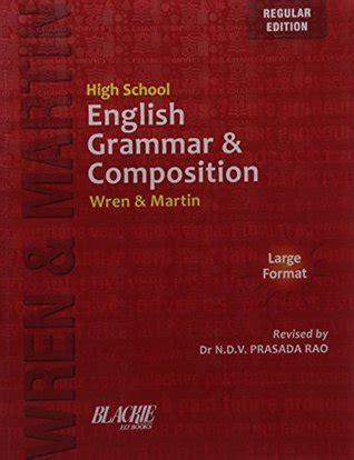 High School English Grammar & Composition  Wren Reviews, Summary, Story, Price, Online, Fiction