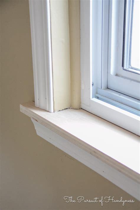 window sill diy window sill and trim my recent project