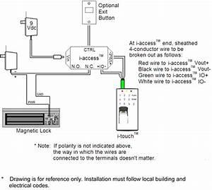 Maglock Wiring Diagram