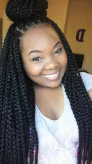 Crochet Long Box Braids Hairstyles