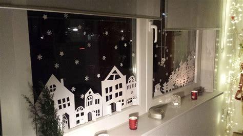 Weihnachtsdeko Ans Fenster Hängen by Winterliche Fensterdekoration Kostenlose Druckvorlage
