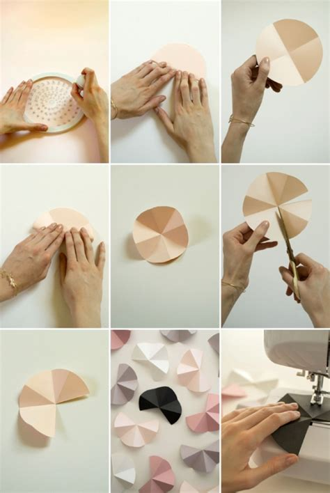 picture of modern and easy diy geometric garland for your wedding decor - 10 Simple Modern Diy Decorations