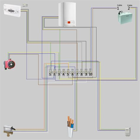 wireless room thermostat wiring diynot forums
