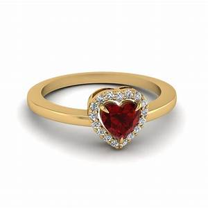 Diamond And Ruby Engagement Ring | Fascinating Diamonds