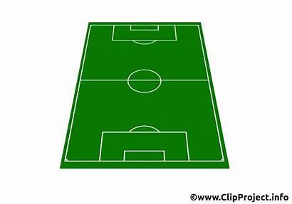 Fussballfeld Football Field Clipart Campo Soccer Fussball