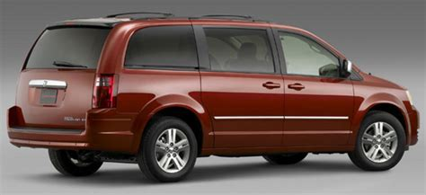 Town Dodge Chrysler by Chrysler Town Country And Dodge Caravan News Top Speed