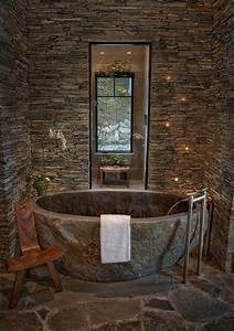 best 25 natural stone bathroom ideas on pinterest stone With using pebbles for unique natural decorating bathroom ideas