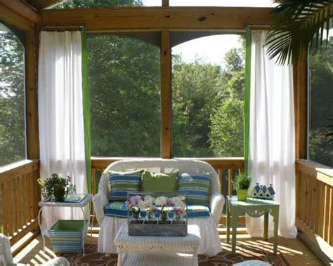Outdoor Curtains For Porch And Patio Designs, Summer