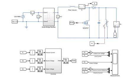 Power Factor Correction Matlab Simulink