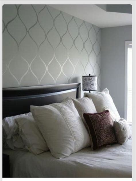 subtle accent wall cool spaces accent wall bedroom