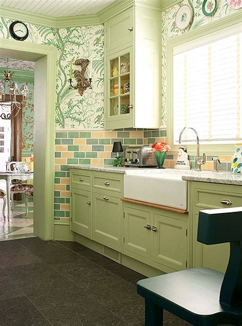 apple green kitchen designers their favorite paint colors for green kitchens 1318