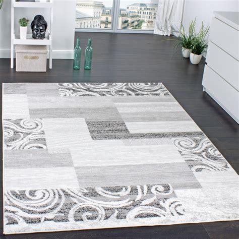 Moderne Teppiche Für Wohnzimmer by Designer Teppich Wohnzimmer Teppich Kurzflor Muster In