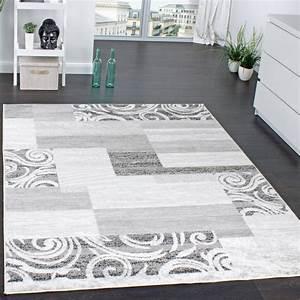 Teppich Modern Wohnzimmer : designer teppich wohnzimmer teppich kurzflor muster in ~ Lizthompson.info Haus und Dekorationen