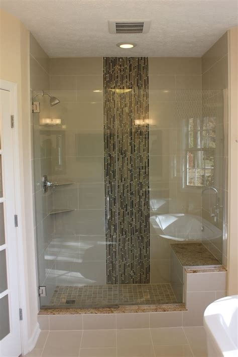 bathroom remodel custom shower custom shower door