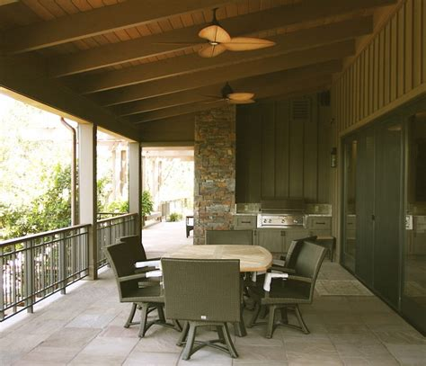 wine country living rustic porch san francisco