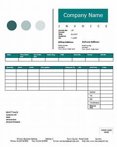 sales invoice template printable word excel invoice With sales invoice example