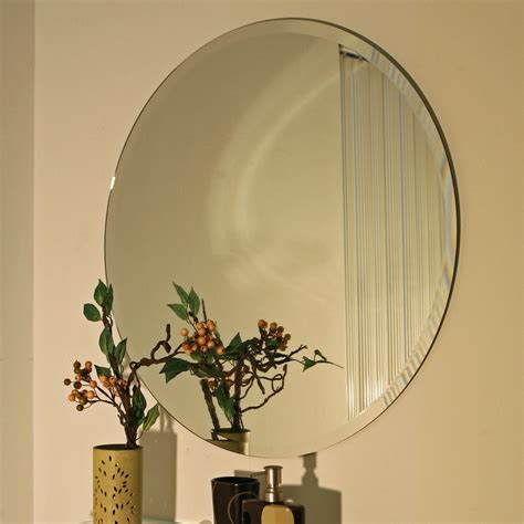 Circular Bathroom Mirrors by 30 Inch Circular Mirror For Bedroom From Hearts Attic