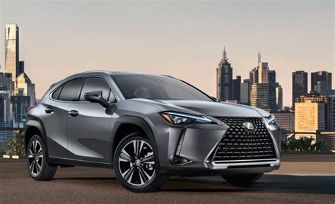 lexus ux msrp colors release date redesign price