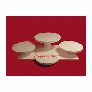 Presentoir Gateau Etage : pr sentoir gateau en polystyr ne farandole de desserts ou pi ces mont es ~ Teatrodelosmanantiales.com Idées de Décoration